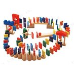 知育教材 ドキドキドミノ オモチャ 知育玩具 幼児 木のおもちゃ 木製玩具
