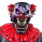 スモーキンジョーデビルクラウンマスクパーティーグッズイベント用品プチ仮装変装グッズコスプレハロウィンかぶりものホラーマスクピエ