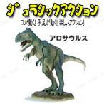 取寄品  Jurassic Acition (ジュラシックアクション) アロサウルス ミニチュア 恐竜 アクションフィギュア 動く
