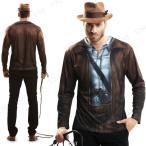 S.L. コスT トレジャーハンター ハロウィン 仮装 衣装 コスプレ コスチューム 大人用 パーティーグッズ Tシャツ ティーシャツ 有名人 パロデ