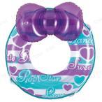 ショッピングうきわ 浮輪60cm リボンハート アウトドア ビーチグッズ プール用品 海水浴 水物 浮き輪 うきわ ウキワ 水遊び用品 51cm〜70cm 子供用 子ども