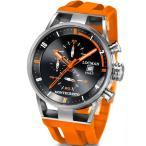 ロックマン LOCMAN 腕時計 クロノグラフ モンテクリスト オーバーサイズ チタニウム Monte Cristo Oversize Titanium Water Resistant Chrono Watch 正規品