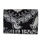 Vivienne Westwood ヴィヴィアンウエストウッド 3ツ折財布 ブラック 牛革 T321 新品正規品