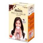 【MAXIM】 ホワイトゴールドコーヒーミックス 100個入