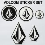 VOLCOM ボルコム ステッカーセット(VOLCOM STICKER SET)ストーンステッカー5枚セット VOLCOM JAPAN正規品