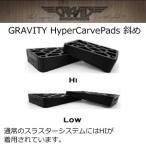 gravity,グラビティー,スケートボード,ライザーパッド●gravity HYPER CARVE Pads