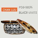 値下げしました!CHANLUU/チャンルーBLACK-WHITE BANGLE 5SET /白黒柄バングル5個セット POB-09174
