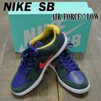 ショッピングNIKE NIKE SB/ナイキ エスビー AIR FORCE 2 LOW MIDNIGHT GREEN/HABANERO RED 靴 スケートボードシューズ スニーカー 送料無料