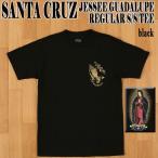 ショッピングサンタ SANTA CRUZ/サンタクルズ JESSEE GUADALUPE S/S TEE BLACK メンズ Tシャツ 男性用 T-shirts 半袖