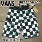 ショッピングVans VANS/バンズ MIXED SCALLOP 20 BOARDSHORTS PEACE CHECKER 男性用 サーフパンツ ボードショーツ サーフトランクス 海水パンツ 海パン メンズ 水着
