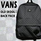 ショッピングVans VANS/バンズ ヴァンズ OLD SKOOL 2 BACKPACK CHECKER BLACK 鞄 リュック バックパック チェッカー柄