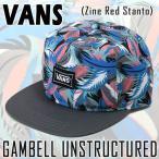 ショッピングVans VANS/バンズ CAP/キャップ GAMBELL UNSTRUCTURED ZINE RED STANTO CAP/キャップ HAT/ハット 帽子