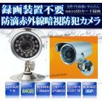 防犯カメラ/64GB対応/動体検知/録画一体型/赤外線/延長保証あり