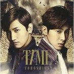 CD/東方神起/TIME (CD+DVD(Music Clip収録)) (ジャケットA) (初回生産限定盤)