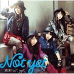 CD/Not yet/週末Not yet (DVD付(Music Clip、ドキュメント映像(大島優子、横山由依)収録)) (ジャケットA) (Type-A)