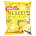 【韓国大人気食品】 ヘテ/ハニーバターチップ新ヘテ韓国ポテトスナックチップスクラッカー60g (5袋セット)