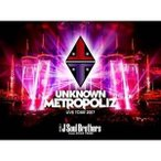 """DVD/三代目 J Soul Brothers from EXILE TRIBE/三代目 J Soul Brothers LIVE TOUR 2017 """"UNKNOWN METROPOLIZ"""" (通常版)"""