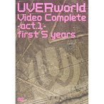 DVD/UVERworld/UVERworld Video Complete-act.1- first 5 years (通常版)
