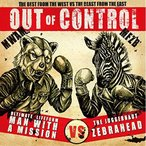 CD/MAN WITH A MISSION × Zebrahead/OUT OF CONTROL