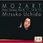 CD/内田光子/モーツァルト:ピアノ・ソナタ 第8番・第11番(トルコ行進曲付き)第14番・第15番