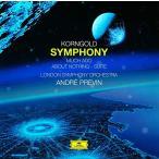 CD/アンドレ・プレヴィン/コルンゴルト:交響曲嬰ヘ長調/組曲(空騒ぎ) (SHM-CD)
