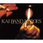 KAI BAND HEROES-45th ANNIVERSARY BEST- 初回限定盤  DVD付