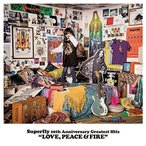 CD/Superfly/Superfly 10th Anniversary Greatest Hits LOVE, PEACE & FIRE (紙ジャケット) (初回限定盤)