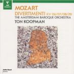 CD/トン・コープマン/モーツァルト:ディヴェルティメント集