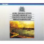 CD/ニコラウス・アーノンクール/ヘンデル:合奏協奏曲作品3&6(全曲) (解説付)