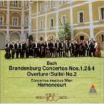 CD/ニコラウス・アーノンクール/バッハ:ブランデンブルク協奏曲1・2・4番|管弦楽組曲第2番