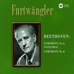 CD/ヴィルヘルム・フルトヴェングラー/ベートーヴェン:交響曲 第6番「田園」&第8番 (ハイブリッドCD)
