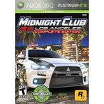 中古XBOX360ソフト 北米版 湾岸MIDNIGHT CLUB:LOS ANGELES COMPLETE EDITION[PLATINUM HITS](国内版本体