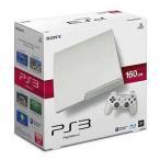 中古PS3ハード プレイステーション3本体 クラシック・ホワイト(HDD 160GB/CECH-3000ALW)