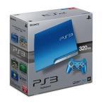中古PS3ハード プレイステーション3本体 スプラッシュ・ブルー(HDD 320GB/CECH-3000BSB)