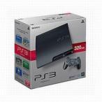 中古PS3ハード プレイステーション3本体 チャコール・ブラック(HDD 320GB/状態:コントローラー欠品)