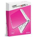新品ニンテンドー3DSハード Newニンテンドー3DSLL本体 ピンク×ホワイト