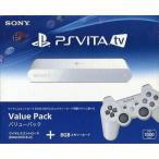 中古PSVITAハード PlayStation Vita TV本体 バリューパック[VTE-1000AA01] (状態:USBケーブル欠品)