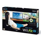 ショッピングused 中古WiiUソフト Wii Fit U バランスWiiボードセット kuro