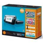 中古WiiUハード Wii U本体 すぐに遊べるファミリープレミアムセット(クロ)