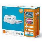 中古WiiUハード Wii U本体 すぐに遊べるファミリープレミアムセット(シロ) (状態:GamePad水平スタンド欠品)