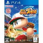 新品PS4ソフト 実況パワフルプロ野球2016