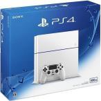 中古PS4ハード プレイステーション4本体 グレイシャー・ホワイト(HDD 500GB/CUH-1200AB02)