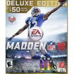 中古Xbox Oneソフト 北米版 MADDEN 16 DELUXE EDITION(国内版本体動作可)