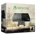中古Xbox Oneハード XboxOne本体 1TB「コール オブ デューティ アドバンスド・ウォーフェア」リミテッドエディ