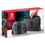 新品ニンテンドースイッチハード Nintendo Switch本体/Joy-Con(L)/(R) グレー