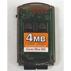ドリームキャストハード GAME MAK DC 4Mb 800ブロックDCメモリー (クリアグレー)