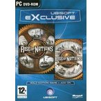 中古Windows98 EXCLUSIVE RISE OF NATIONS +RISE OF NATIONS THRONES AND PATRIOTS[EU
