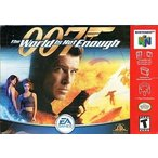 ニンテンドウ64ソフト 海外版 007 The World Is Not Enough Electronic Arts