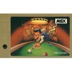中古MSX カートリッジROMソフト コンピュータービリヤード (箱説なし)