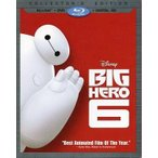 中古輸入アニメBlu-rayDisc BIG HERO 6 COLLECTOR'S EDITION [輸入盤]